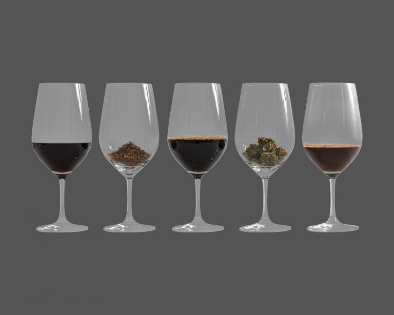Read more about the article Alcohol Vs. Cannabis